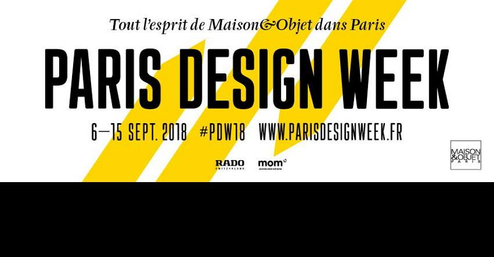 파리 디자인 위크Paris Design Week 2018Paris Design Week