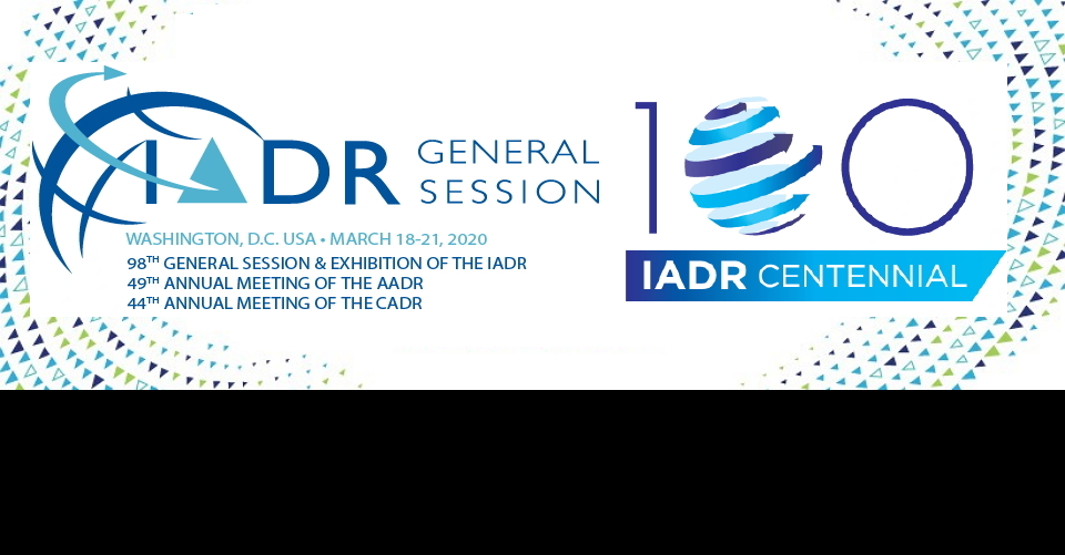 워싱턴 미국 치과 학회 연례회의 IADR 2020 IADR/AADR/CADR General Session & Exhibition