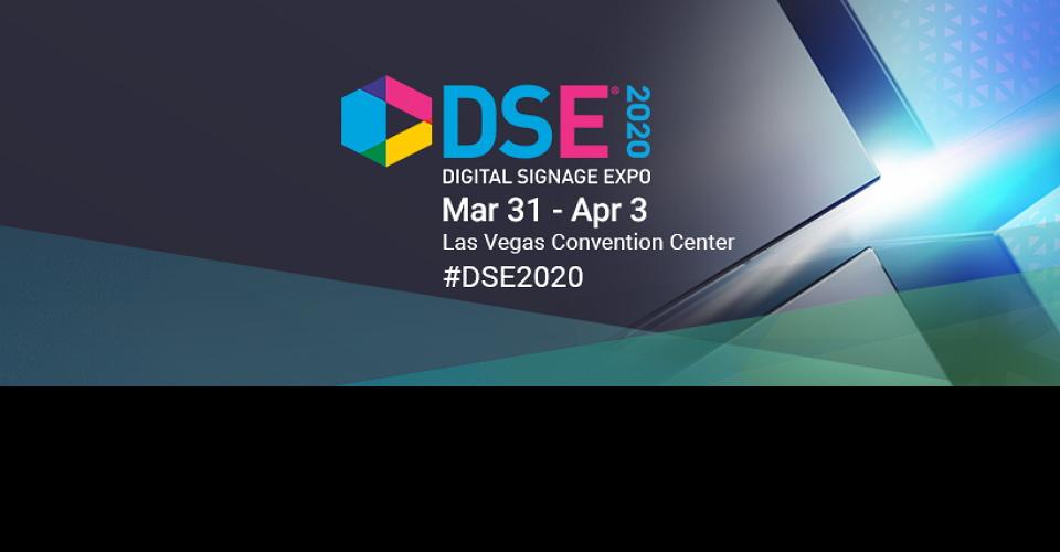 라스베가스 디지털사이니지 박람회 DSE 2020 Digital Signage Expo