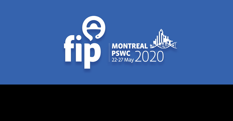몬트리올  세계 제약 연맹 총회 FIP PSWC 2020 FIP Pharmaceutical Sciences World Congress