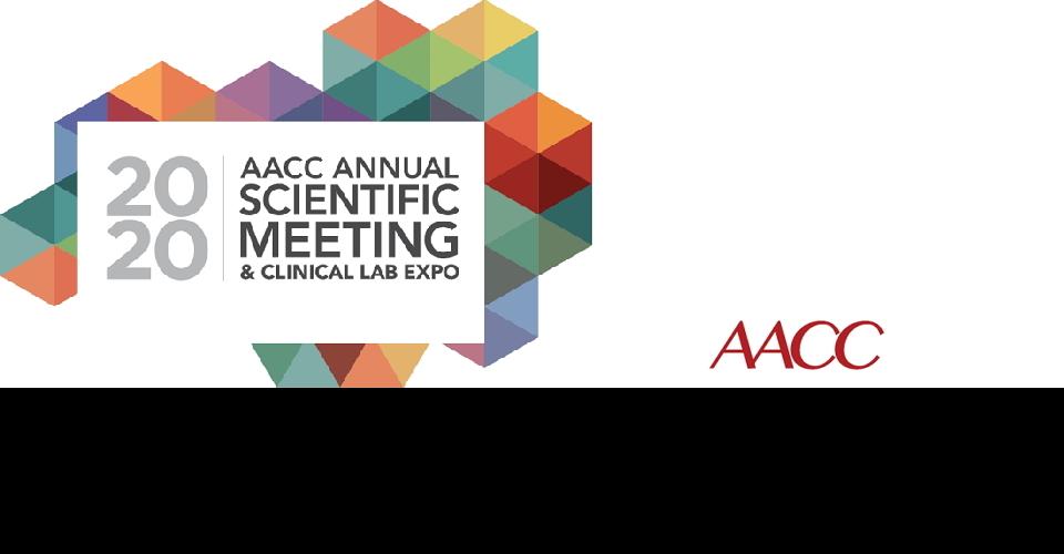시카고 임상화학 및 의료진단 국제학술대회 AACC 2020 AACC/ASCLS Annual Meetings and Clinical Lab Expo