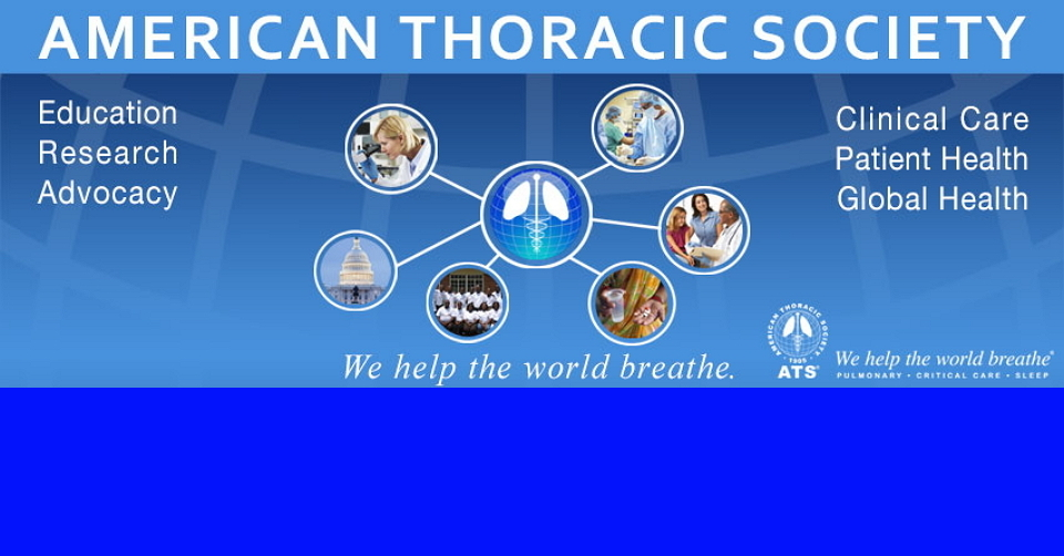 필라델피아 미국 흉부 학회 회의 ATS 2020 American Thoracic Society International Conference