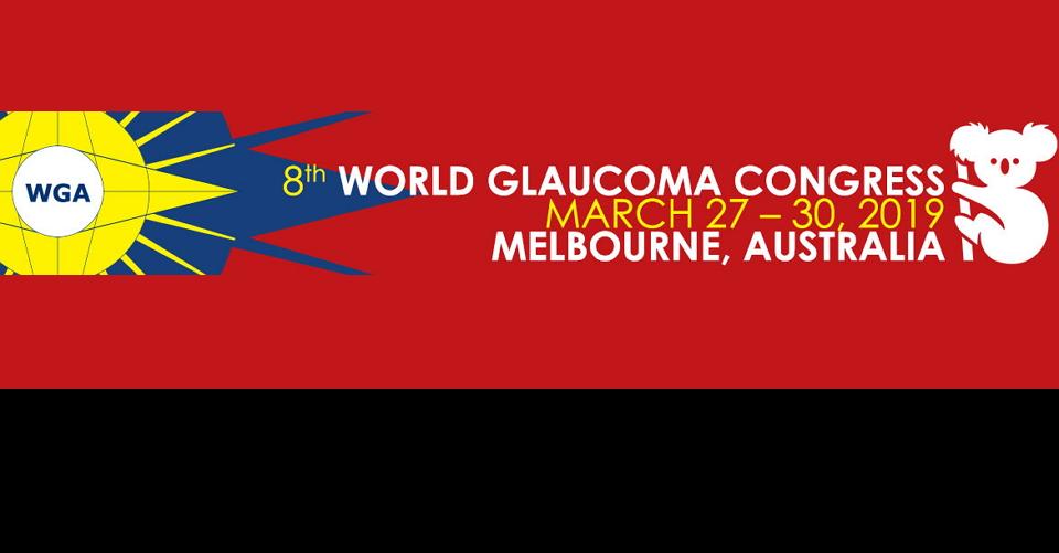 멜버른 세계 녹내장 학회 회의WGC 2019World Glaucoma Congress
