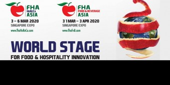 싱가포르 식품/호텔/제빵/커피 박람회 FHA 2020 Asia's most comprehensive international food & hospitality trade event.