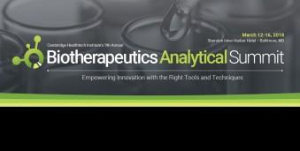 알렉산드리아 생물학적 치료제 분석 서밋Biotherapeutics Analytical Summit 2019Biotherapeutics Analytical Summit